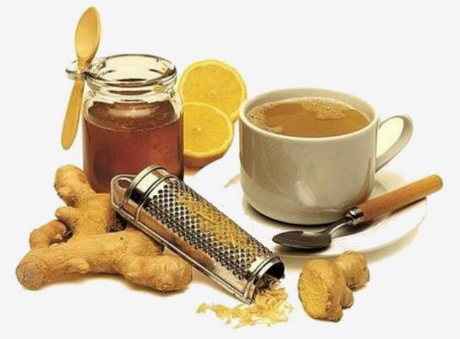 чай с маслом и медом